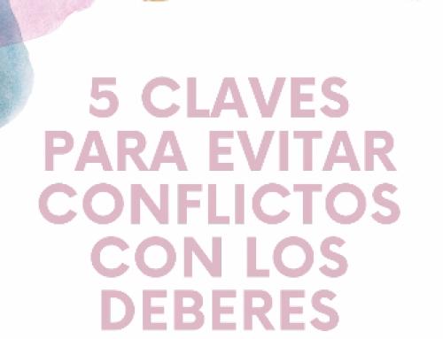 5 claves para evitar conflictos con los deberes