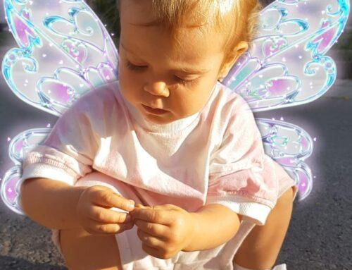 Los niños son como mariposas